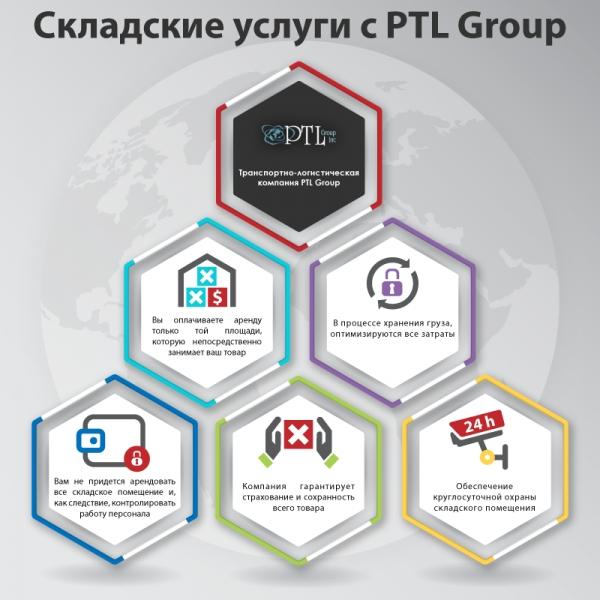 Складские услуги с PTL Group